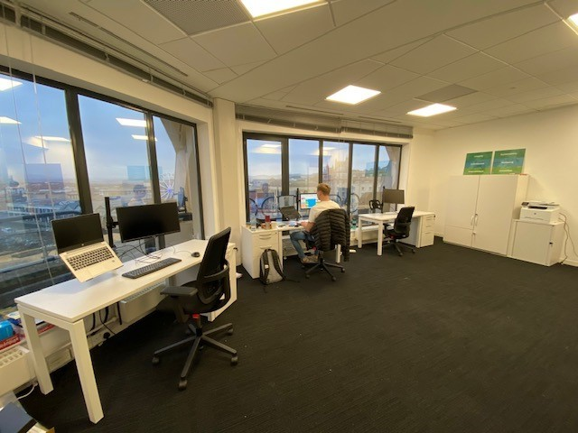 Interior shot of new Bristol office