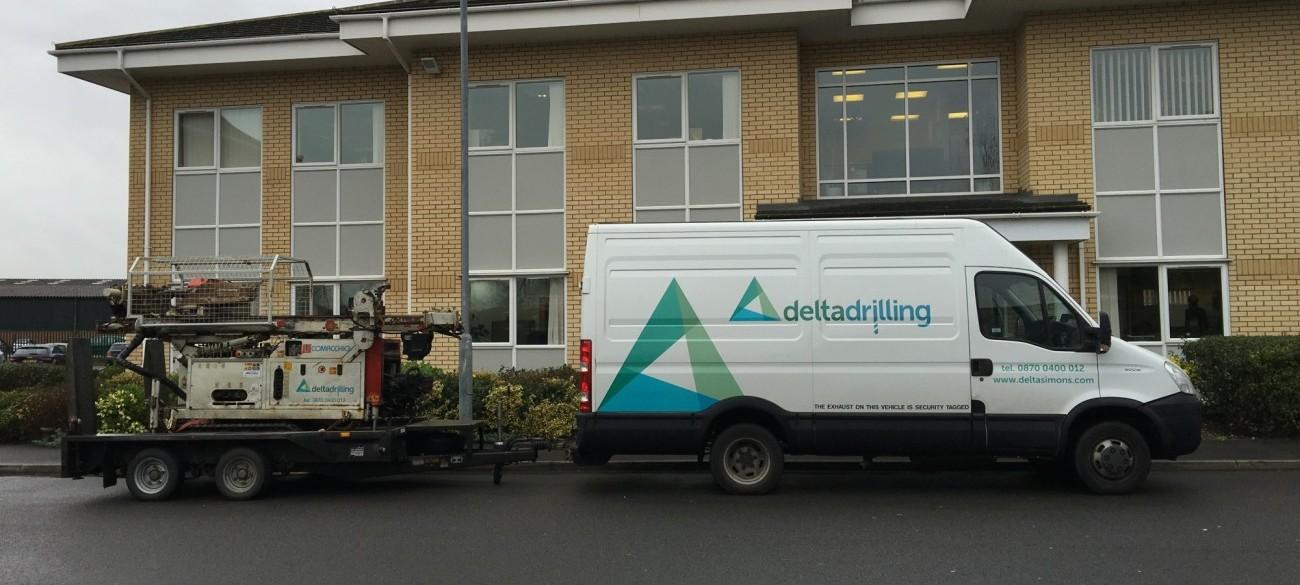 Delta-Simons Drilling Van Image
