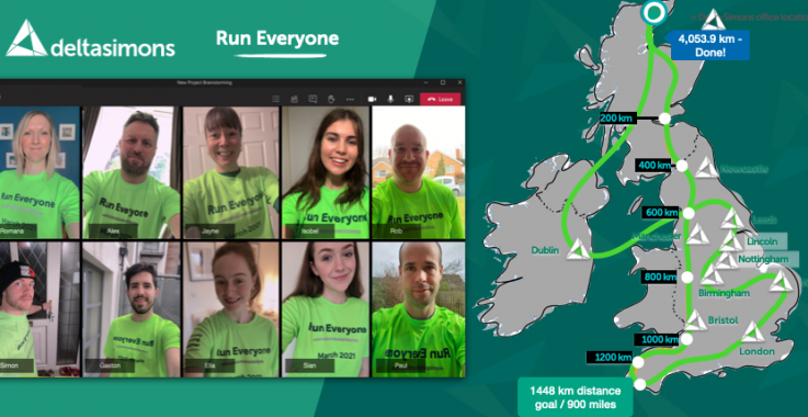 Top Fundraisers for Run Everyone
