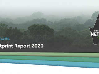 Delta-Simons Carbon Footprint Report 2020 Header