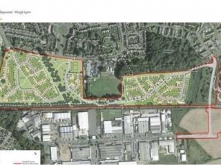 Parkway, Kings Lynn Site Plan
