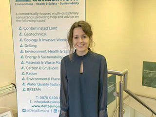 Graduate Environmental Consultant joins team | Delta Simons